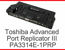 El software de Toshiba Advanced Port Replicator III portege pm100 m200 m300 Satellite m10/1.7