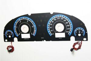 Ford Mondeo MK3 - po lifcie design 1 glow gauge plasma dials tachoscheibe glow s