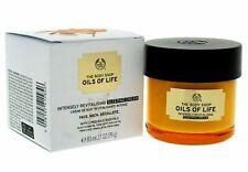 The Body Shop Oils Of Life Intensely Revitalising Sleeping Cream 80ml Brand New