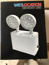 Emergency Exit Light - Wet Location Outdoor Listed 02-EMWL
