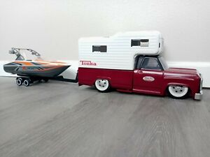 Custom Tonka Toys Weekend Get-A-Way pack w Dodge pickup truck