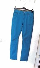 NEXT ORIGINALS AGE 13 YEARS  GREEN / TURQUOISE COLOUR STRETCH  SKINNY JEANS