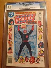 CGC 9.8 Justice League of America #209 White pages
