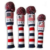 NEW CRAFTSMAN GOLF FASHION HEADCOVER DRIVER USA FLAG SOLID USA SHIPPING FREE