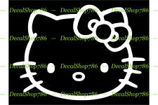 Hello Kitty - Cars /SUV's/Trucks Vinyl Die-Cut Peel N' Stick Decal/Sticker