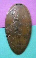 World Of Disney elongated penny Disneyland USA cent Donald Duck souvenir coin