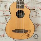 Ortega Bonfiree Seriws RU5CE-SO Acoustic/Electric Soprano Ukulele Natural Spruce for sale