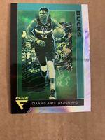 2019-20 Chronicles FLUX Giannis Antetokounmpo Prizm Holo Silver SP Bucks MVP!