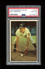 1953 Bowman Set Break #118 - Billy Martin PSA 4 VG-EX
