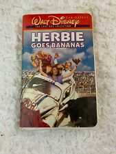 Herbie Goes Bananas (VHS,1980 The Love Bug Collection) Walt Disney Clamshell