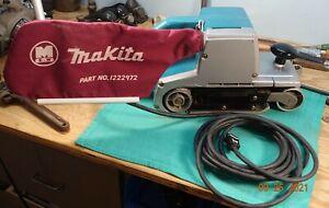 "MAKITA # 9401 HEAVY DUTY 4""x24"" Belt Sander w/Dust Bag Inspected-Tested-Working"