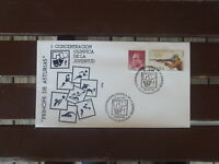 SPANISH ESPANA OLYMPIC COVER & POSTMARK SHOOTING STAMP  1991