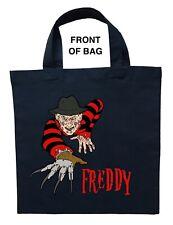 Freddy Krueger Trick or Treat Bag, Personalized Freddy Krueger Halloween Bag