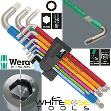 "Wera Hex Plus Multicolour Imperial Stainless Steel 1 Allan Key Set 5/64""-3/8"""