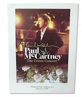 Paul Mccartney Green Concert Atlanta 2009 Tour Wall Poster New Official Litho