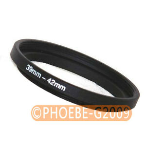 39mm to 42mm 39-42 mm Step Up Filter Ring  Adapter