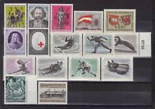 Österreich Jahrgang 1963 komplett feinst postfrisch