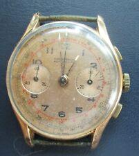 Chronograph Antimagnetic Handaufzug 750 18 Karat Gold Swiss made