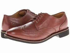 COLE HAAN PHINNEY WINGTIP OXFORD  BROWN LEATHER SHOES SIZE 11/M NIB