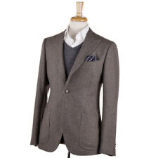 NWT $1495 BOGLIOLI Gray and Tan Patterned Soft Wool Sport Coat 38 R (Eu 48)