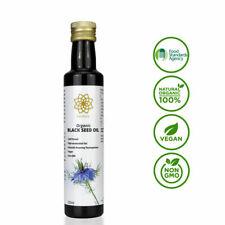 Organic Vegan Extra Strong Black Seed Oil - 100 Cert Good Health 250ml UK