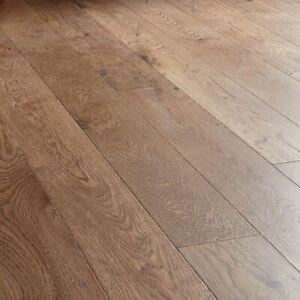 Dark Solid Oak Wood Flooring by Woodpecker 1.5m2 Pack (£28.20 per SQM)