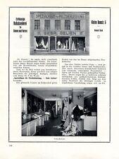 Schneiderei Gelien Stettin XL Reklame 1924 Szczecin Polen Schneider Werbung +