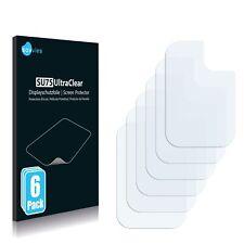 6x Displayschutzfolie für Samsung Galaxy A21s (Kamera) Klar Schutzfolie