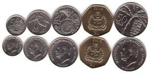 Samoa _--- set 5 coins 5 10 20 50 Sene 1 Tala 2002 - 2010 UNC Lemberg-Zp