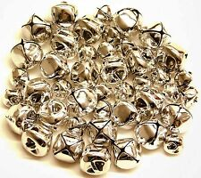Jingle Bells Silver 60 pieces 15 mm x 24  and 10 mm x 36