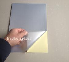 50pcs A4 PET UV-Coating Silver Film Self Adhesive Sticker Laser Printer Paper