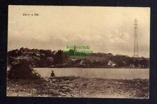 123777 AK Zellin a. Oder 1925 Panorama mit Funkturm Sendemast