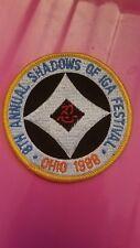 Shadows of Iga Festival Patch-1988-VERY RARE- Bujinkan Stephen Hayes