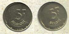 5 frank 1989 fr+vl * uit muntenset * FDC / UNC *
