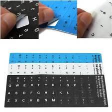 English US Keyboard Keypad Sticker Decal Cover Skin Letters Desktop laptop Keys