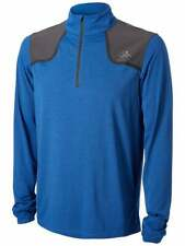 The North Face Men's Kilowatt 1/4 Zip Pullover Top, Color Blue, Sz Med, Msrp $75
