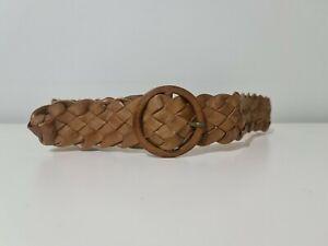 Tan Leather Belt M/L