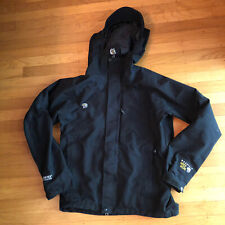 Mountain Hardware Gore-Tex Soft Shell Jacket Men's Small Black Full Zip