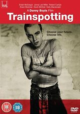 Trainspotting DVD BRAND NEW Region 2 Ewan McGregor Danny Boyle