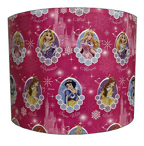 Snow White Lampshades, Ideal To Match Rapunzel, Ariel, Belle, Cinderella Duvets