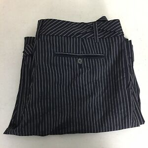 PAUL SMITH Blue Men Only Wide Leg Stripes Trouser Pants Size 36 Measured VGC