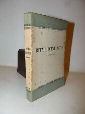 POESÍA - Gabby Alessandrini: d ritmo'Infinito 1951 Ofiria con dedicación autor