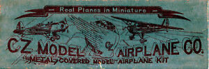 CZ MODEL AIRPLANE 1/48 SCALE METAL COVERED KIT LUSCOMBE SILVAIRE (1939) *LIKE NE