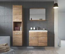Badezimmer Badmöbel Set Montreal 60 cm Waschbecken Lefkas - Unterschrank Schrank
