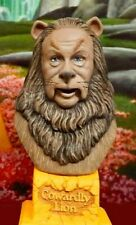 Cowardly Lion Wizard of Oz Painted Resin Bust