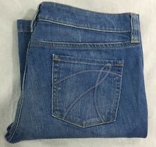 New York & Company women's Hudson Fit & Flare Jeans Size 12 Petite (34x29)