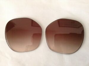 New Authentic Coach HC8315 57mm Replacement Lenses Brown/Gradient