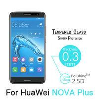"For Huawei NOVA Plus New Premium Guard Tempered Glass Screen Protector Film 5.5"""