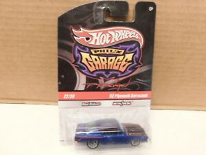 Hot Wheel - 1/64 - 68 Plymouth Barracuda  - Phil's Garage w / Real Riders.