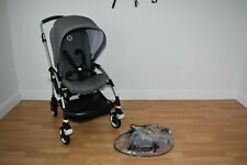 Bugaboo Bee 5 Single Pushchair in Grey Melange  - Silver Chassis